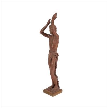 ANDROUSOV-Vadim-Arts-decoratifs-objets-ephebe-apollon-terre-cuite