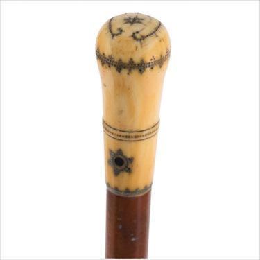 canne-pommeau-pique-ivoire