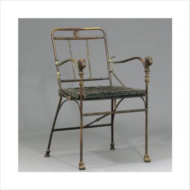 giacometti-diego-arts-decoratifs-sieges-fauteuil-tete-lionnes
