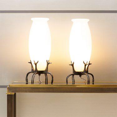 RATEAU-Armand-Albert-Arts-décoratifs-luminaires-lampes-fennecs-1919-1920-gutknecht