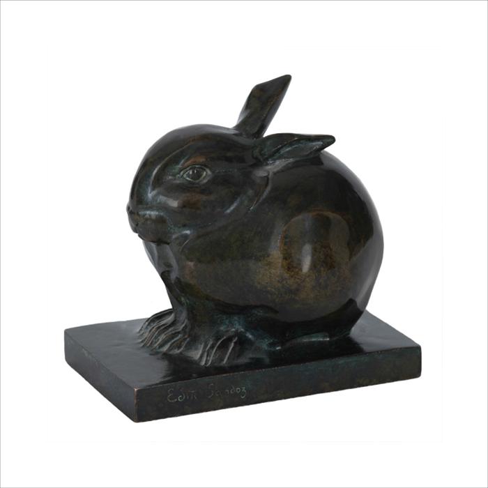 Lapin bronze Sandoz