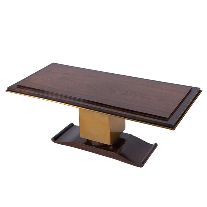 Table basse palissandre Cruege