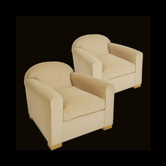 jacques adnet sieges fauteuil dossier arrondi