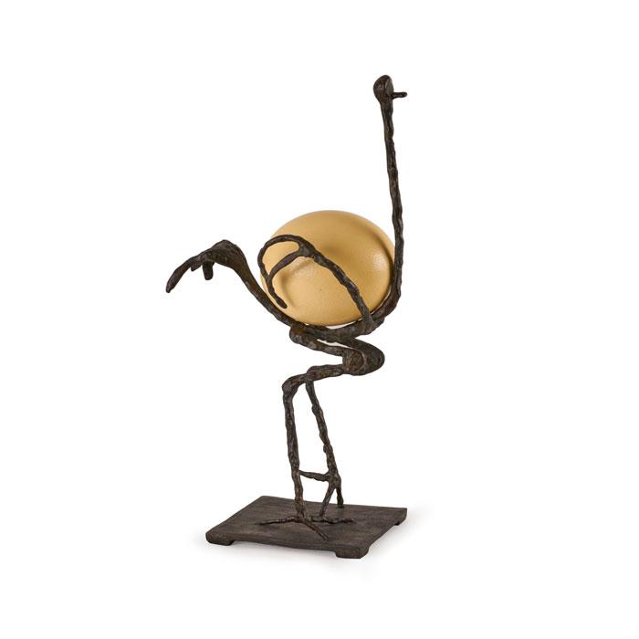 Giacometti bronze Autruche 1977