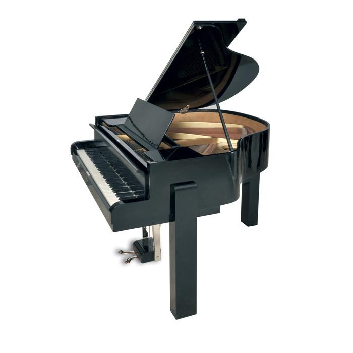 jacques adnet piano moderniste bois laque noir