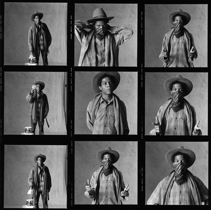 Basquiat planche contact photographie