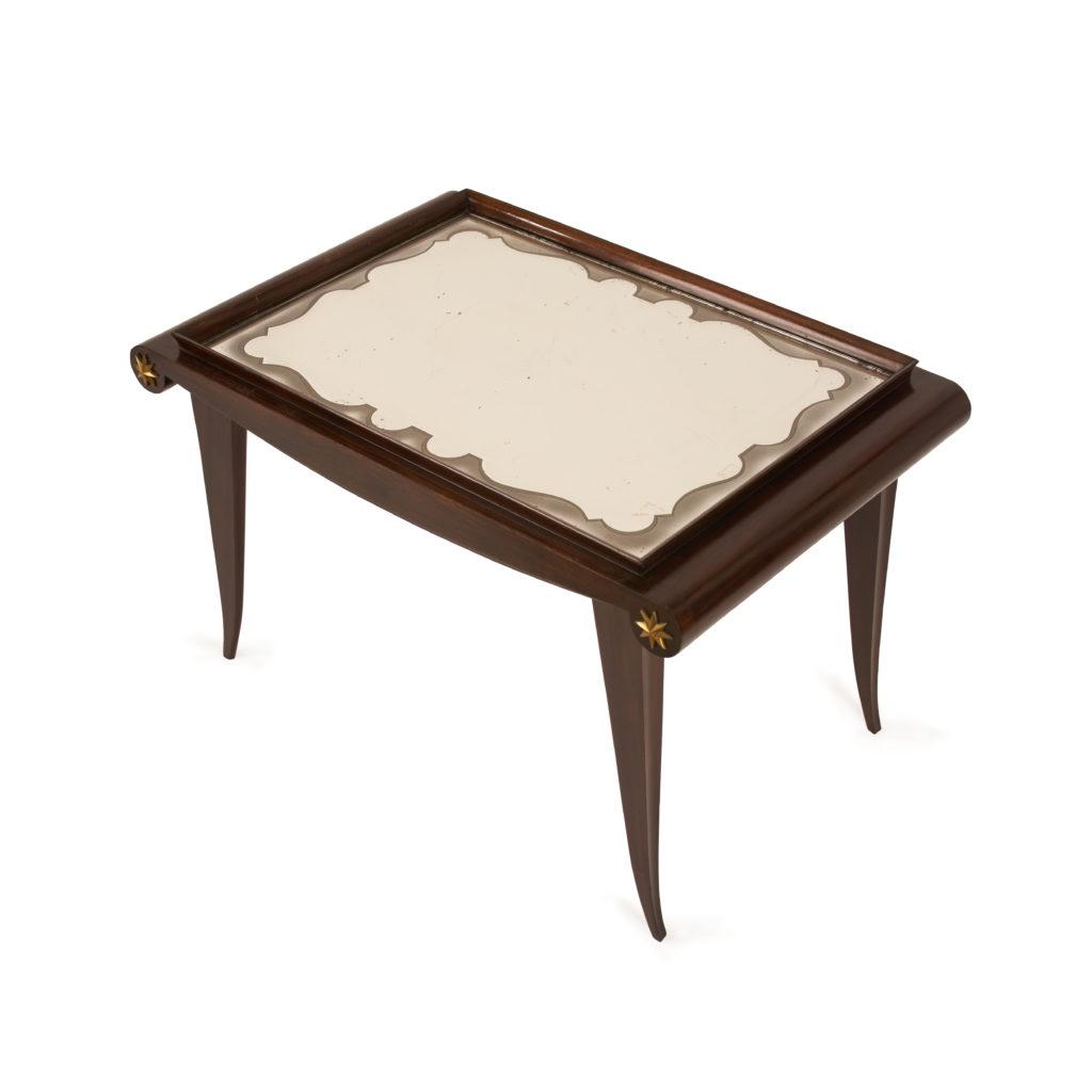 Table basse acajou Old